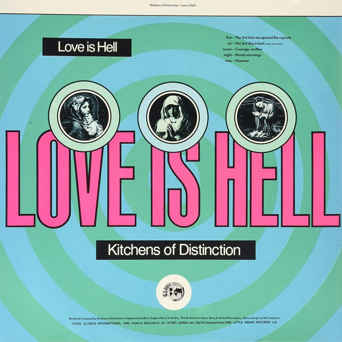 Kitchens of Distinction - Love is Hell