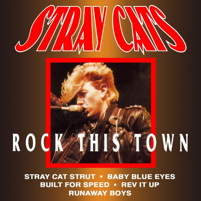 Stray Cats - Rock This Town